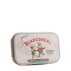 Laureldrop Peppermint White Tin Can 50 g - Amarelli