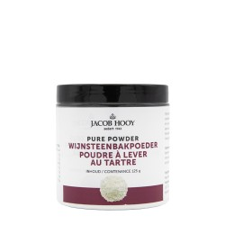 Pure Powder Cream Of Tartat Baking Powder 125 g - Jacob Hooy