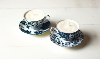 Make scented candles with natural materials