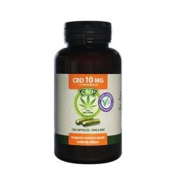 CBD 120 Capsules 10 mg - Jacob Hooy