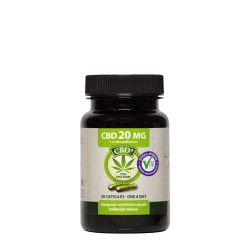CBD 30 capsules 20 mg - Jacob Hooy