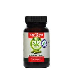 CBD 60 Capsules 15 mg - Jacob Hooy