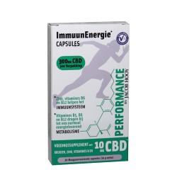 CBD ImmuunEnergie Performance 30 Capsules - Jacob Hooy