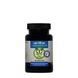 CBD 10 mg Magnesium Citrate 200 mg 30 Tablets - Jacob Hooy
