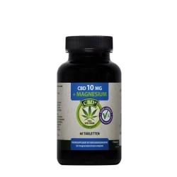 CBD 10 mg Magnesium Citrate 200 mg 60 Tabletten - Jacob Hooy