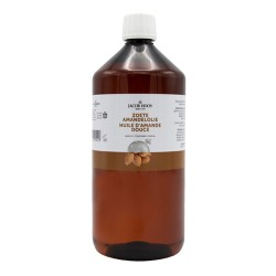 Sweet Almond Oil 1000 ml - Jacob Hooy