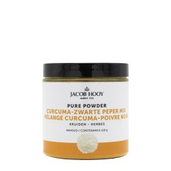 Pure Powder Curcuma Black Pepper Mix 110 g - Jacob Hooy
