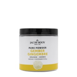 Pure Powder Ginger 115 g - Jacob Hooy