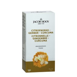 Lemongrass Ginger Curcuma 20 Teabags - Jacob Hooy